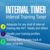 TimerFit:Timer for Boxing, Tabata, CrossFit, Martial Arts and All Interval Training Styles