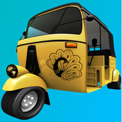 Rickshaw Racing Game