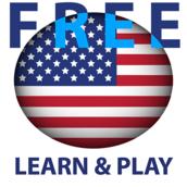 Aprendemos e brincamos. EUA Inglês (Americano) grátis