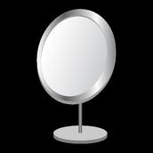 Espelho com o modo luz noite
