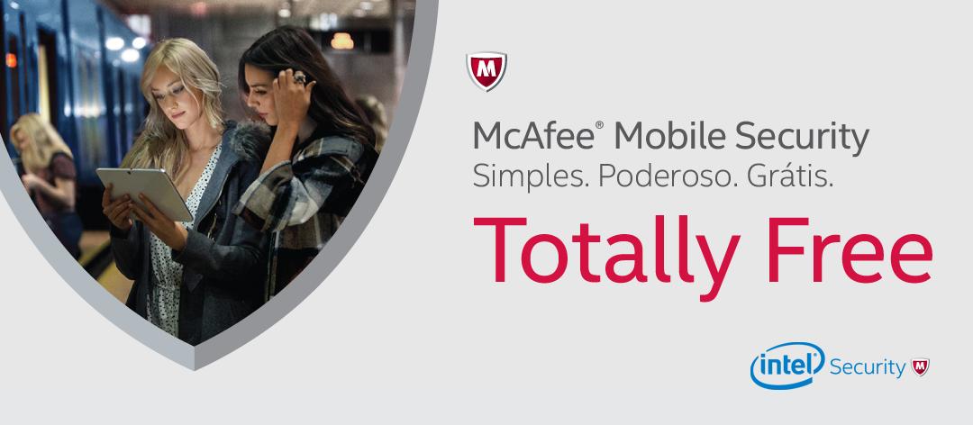 [McAfee® Mobile Security] Simples. Poderoso. Grátis.